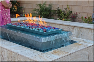 Crandresh Fire and Water Feature